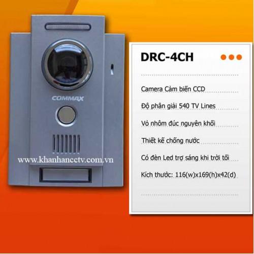 Camera chuông cửa Commax DRC-4CH, đại lý, phân phối,mua bán, lắp đặt giá rẻ