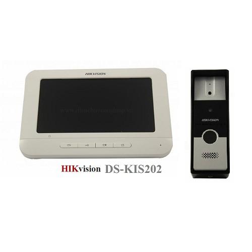 Bộ chuông cửa màn hình màu Analog HIKVISION DS-KIS202, đại lý, phân phối,mua bán, lắp đặt giá rẻ