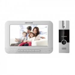 Bộ chuông cửa màn hình căn hộ hikvision DS-KIS201