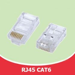 Đầu bấm cáp mạng RJ45 CAT6 - OFC Đồng 100%