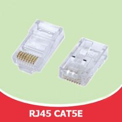 Đầu bấm cáp mạng RJ45 CAT5E chống nhiễu  Đồng 100%