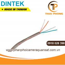 Cáp điện thoại, 2 đôi, 200m/cuộn, INSUN chống nhiễu, dầu chống ẩm