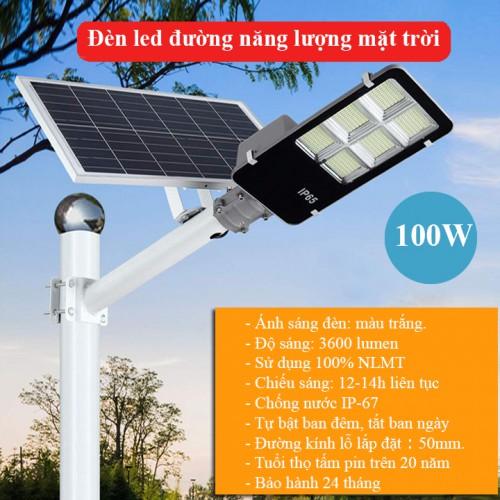 Đèn năng lượng mặt trời 100W LD-J100, đại lý, phân phối,mua bán, lắp đặt giá rẻ