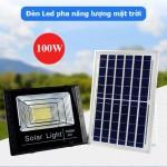 Đèn LED năng lượng mặt trời 100W LP-T100, LED pha