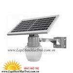 Đèn LED năng lượng mặt trời 25W LSV-A12, lắp sân vườn