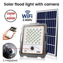 Đèn năng lượng mặt trời 100W kết hợp camera quan sát KA-DW901