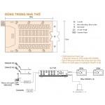 Lắp đặt hệ thống âm thanh loa dùng cho nhà thờ