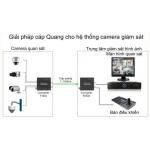 Giải pháp lắp đặt camera quan sát bằng đường truyền cáp quang