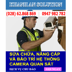 Sửa chữa camera quan sát tại TPHCM giá rẻ, Uy tín, Chuyên Nghiệp