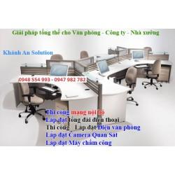 Cung cấp, thiết kế, thi công, lắp đặt điện văn phòng