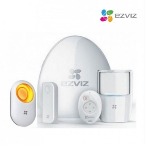 Trọn bộ kit báo động không dây EZVIZ BS-113A (APEC) + Còi báo động, đại lý, phân phối,mua bán, lắp đặt giá rẻ