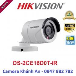 Camera HIKVISION DS-2CE16D0T-IR HD TVI hồng ngoại 2.0 MP