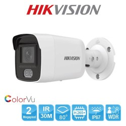 Camera ColorVu DS-2CD2027G1-L 2.0MP ban đêm có màu