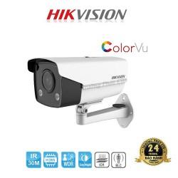 Camera ColorVu DS-2CD2T47G3E-L ban đêm có màu