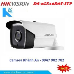 Camera HIKVISION DS-2CE16D8T-ITP HD TVI hồng ngoại 2.0 MP