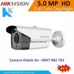 Camera HIKVISION DS-2CE16H1T-IT5 hồng ngoại 5.0 Megapixel