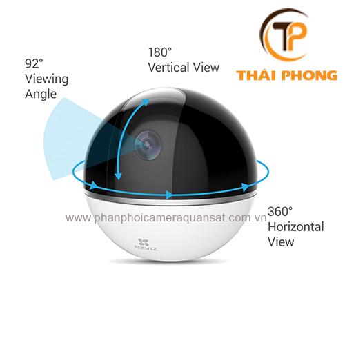 Camera Ezviz C6T CS-CV248 1080P wifi quay quét đa năng, đại lý, phân phối,mua bán, lắp đặt giá rẻ