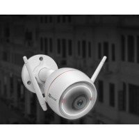 Camera Ezviz C3W 1080P (CS-CV310-A0-1B2WFR) Wifi có Đèn + còi báo động