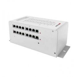 Bộ cấp nguồn HIKVISION DS-KAD612 (phân phối tín hiệu Video/Audio 16 cổng RJ45)