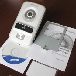 Nút bấm camera chuông cửa IP DS-KV8102-IP