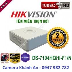 Đầu ghi camera HIKVISION DS-7104HQHI-F1/N 4 kênh