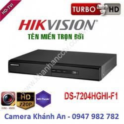 Đầu ghi camera HIKVISION DS-7204HGHI-F1 4 kênh