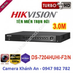Đầu ghi camera HIKVISION DS-7204HUHI-F2/N 4 kênh