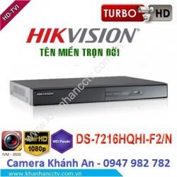 Đầu ghi camera HIKVISION DS-7216HQHI-F2/N 16 kênh