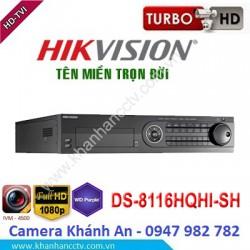 Đầu ghi camera HIKVISION DS-8116HQHI-SH 64 kênh