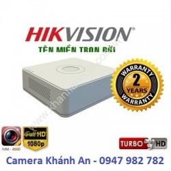 Đầu ghi camera HIKVISION DS-7104HGHI-F1(S) 4 kênh
