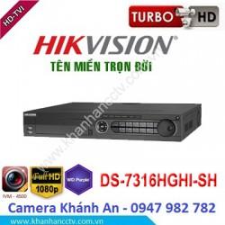 Đầu ghi camera HIKVISION DS-7316HGHI-SH 16 kênh