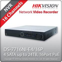 Đầu ghi camera HIKVISION DS-7716NI-E4/16P 16 kênh