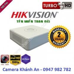 Đầu ghi camera HIKVISION DS-7116HGHI-F1/N 16 kênh