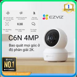 Camera Ezviz C6N 4.0MP 2K, wifi quay quét thông minh