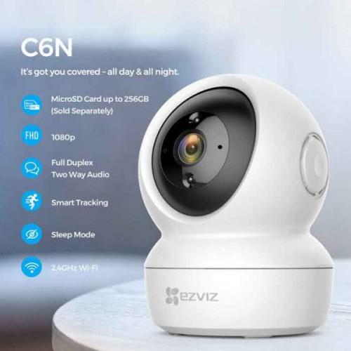 Camera Ezviz CS-CV246 C6N 720P wifi quay quét đa năng, đại lý, phân phối,mua bán, lắp đặt giá rẻ