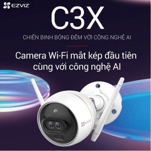 Camera Ezviz C3X CS-CV310 1080P tích hợp AI, báo động, đại lý, phân phối,mua bán, lắp đặt giá rẻ