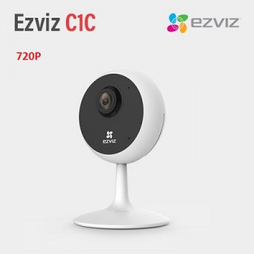 Camera Ezviz C1C 720P CS-C1C-D0-1D1WFR wifi đa năng, đại lý, phân phối,mua bán, lắp đặt giá rẻ