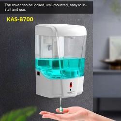 Bình cảm ứng đựng xà phòng, dung dịch sát khuẩn tự động KAS-B700 - 700ml - Dùng pin - (Treo tường)