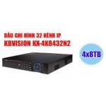 Đầu ghi hình NVR 32 kênh 4K KX-4K8432N2