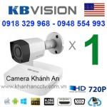 Trọn gói 1 camera KBVISION HDCVI 720P