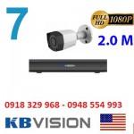 Trọn gói 7 camera KBVISION KX2001C4 Full HD 1080P