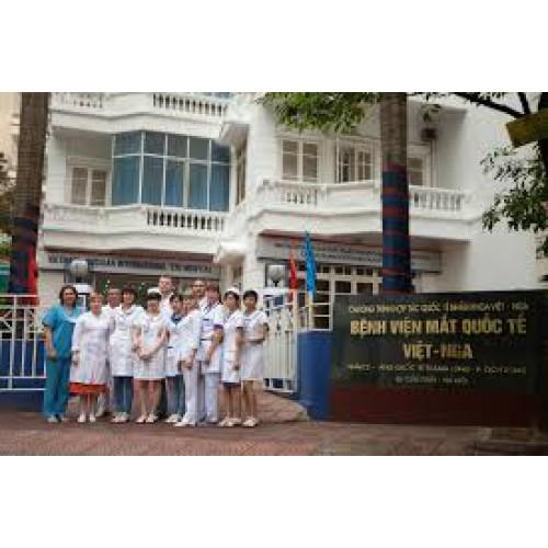Công trình Bệnh Viện Mắt Quốc Tế Việt - Nga