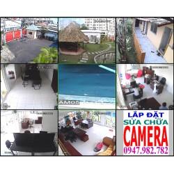Lắp đặt hệ thống camera quan sát tổng công ty xây dựng ĐẠT HIỆP THÀNH