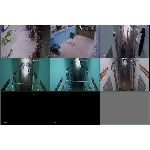 Lắp camera cho khu nhà trọ tại hóc môn