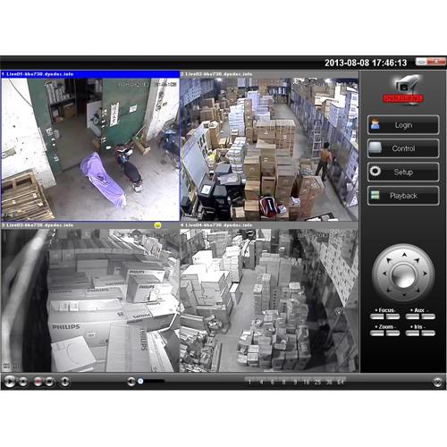 Lắp đặt camera quan sát kho hàng Công ty Phillip Việt Nam