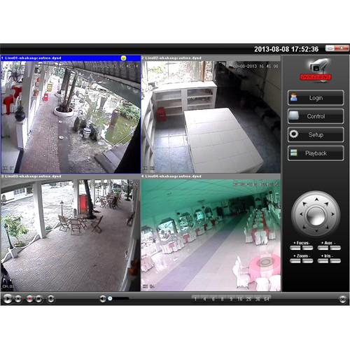 Lắp đặt camera cho quán ăn