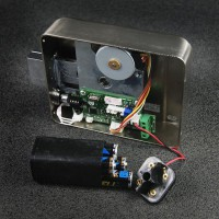 Khóa cổng điện tử thông minh dùng PIN SMART REM03, thẻ từ, chìa cơ