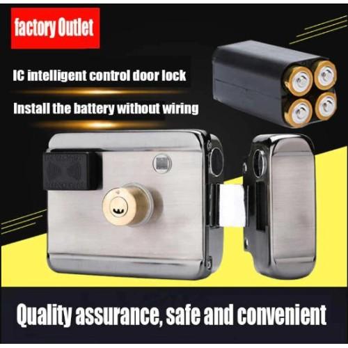 Khóa cổng thẻ từ dùng Pin AXL-065, Remote, đại lý, phân phối,mua bán, lắp đặt giá rẻ