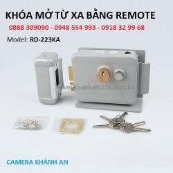Lắp Khóa điện mở cổng bằng remote + chìa khóa RD-223KA tại tp HCM giá rẻ