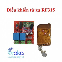 Board Điều Khiển Từ Xa 12V 2 Lệnh RF02-12V